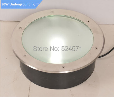 Wholesale 8pcs led underground lamp 50W ,cob, 85~265v, buried light/inground lamp,garden/outdoor using,free shipping free shipping ip68 10w 20w 30w 50w led cob underground light cob inground light diameter 250mm ac85 265v led outdoor lamp