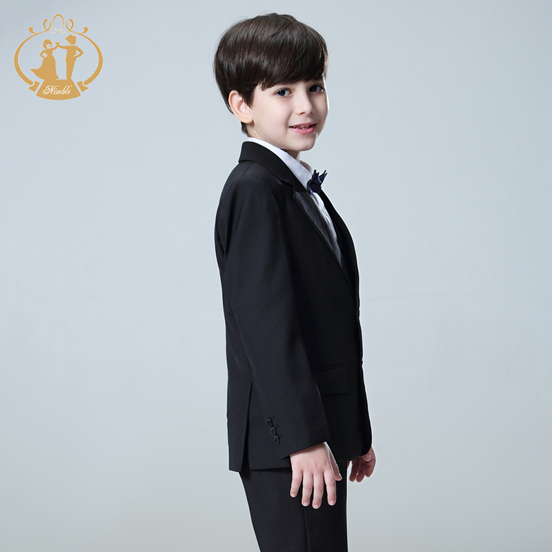 Aliexpress.com : Buy 5pcs/Set Boys Suits For Weddings Kids Prom ...