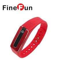 Finefun HB02 NFC Bluetooth 4.0 Smart Браслет монитор сердечного ритма трекер сна Браслет для IOS Android телефона