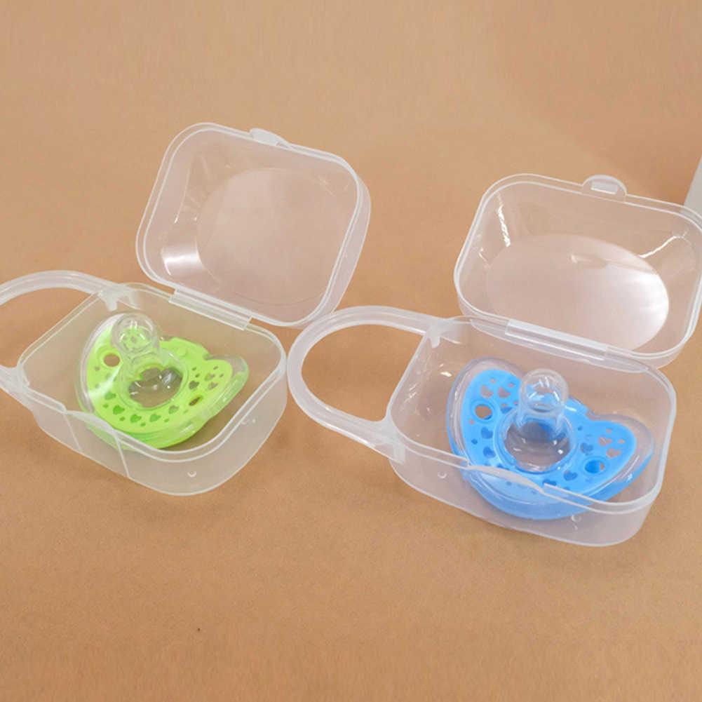 1 шт. Soild портативный для малышей Дети Соска случае соска случае держатель ящик для путешествий