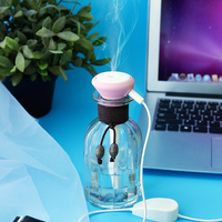 High Quality Usb Glass Air Humidifier Ultrasonic Aroma Diffuser Humidifier For Essential Oil Diffuser Home Mist