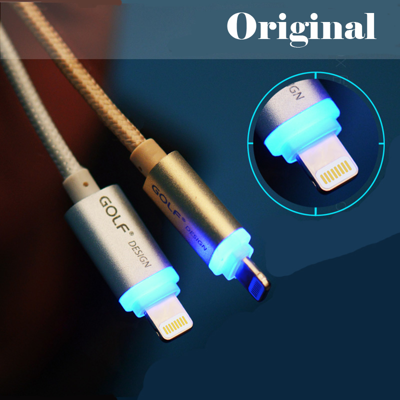 Elough LED Light Micro Usb Cable Charger Mobile Phone Cable for Samsung Android iPhone 5s 5 6 6s Plus tablet  Mini Usb Cable C