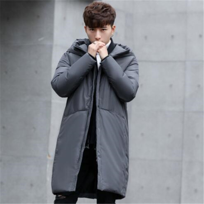 Hooded Long Winter Duck   Down   Parkas Men Casual Clothing Outwear   Down   Jackets Male Thick   Down     Coat   Fashion Puffer Jacket