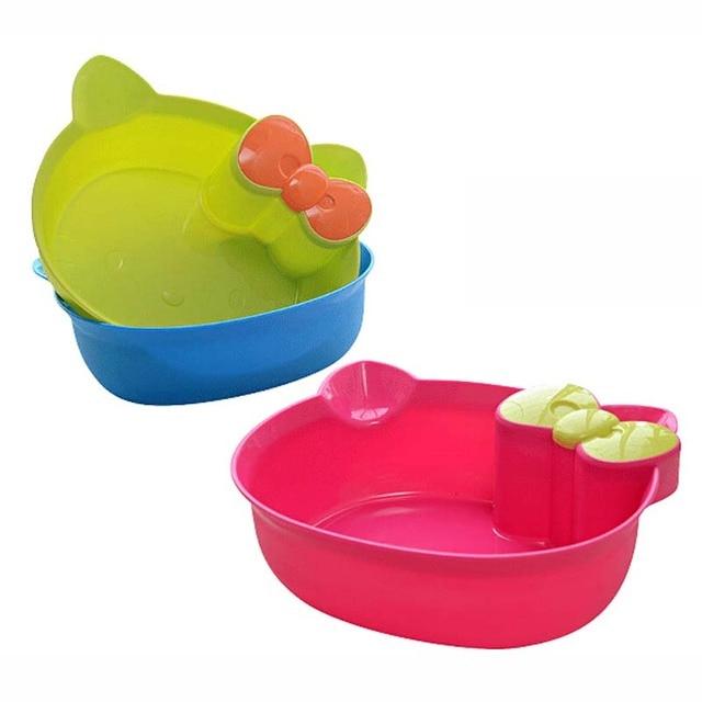 Creative Cat Home Fashion Shatterproof Baby Wash Basin Foot Bathtub