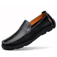 100 Genuine Leather Men Loafers Comfortable Casual Shoes Men Fashion Men Shoes Driving High Quality Flat