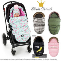Elodie details Baby Stroller Sleeping Bag Winter Warm Sleepsacks Robe For Infant wheelchair envelopes for newborns dropship