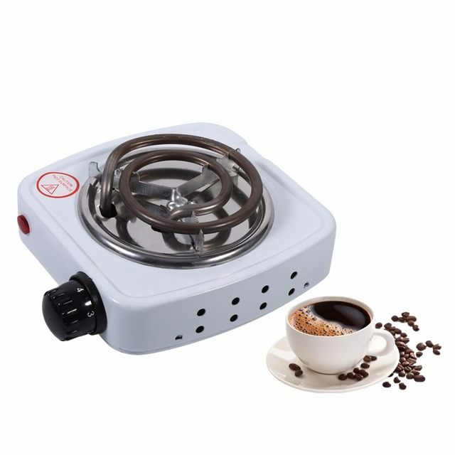 220V 500W EU Plug Electric Iron Burner Stove Hot Plate Home Kitchen Cooker Coffee Heater Hotplate Household Cooking Appliances