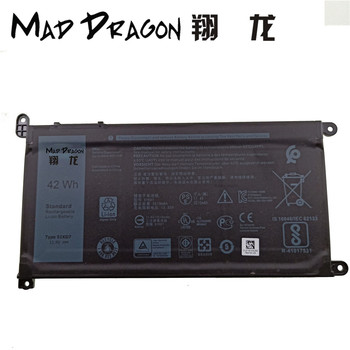 MAD DRAGON новый аккумулятор 42Wh 3-cell для ноутбука Dell Chromebook 11 (3180/3189/5190) 51KD7 051KD7 0FY8XM FY8XM