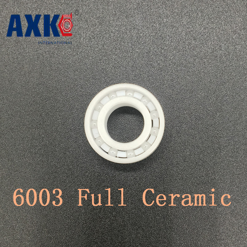 2019 Rolamentos Rodamientos Axk 6003 Full Ceramic Bearing ( 1 Pc ) 17*35*10 Mm Zro2 Material 6003ce All Zirconia Ball Bearings2019 Rolamentos Rodamientos Axk 6003 Full Ceramic Bearing ( 1 Pc ) 17*35*10 Mm Zro2 Material 6003ce All Zirconia Ball Bearings