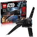 LEPIN Rogue Uno StarWars STAR WARS Emperador combatientes nave Modelo Kit de Construcción de Ladrillos de Juguete Bloques Compatible 75156