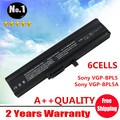 Wholesale New 6 cells Laptop battery for SONY VAIO SR VGN TX SERIES   VGP-BPL5  VGP-BPL5A  VGP-BPS5  VGP-BPS5A   Free shipping