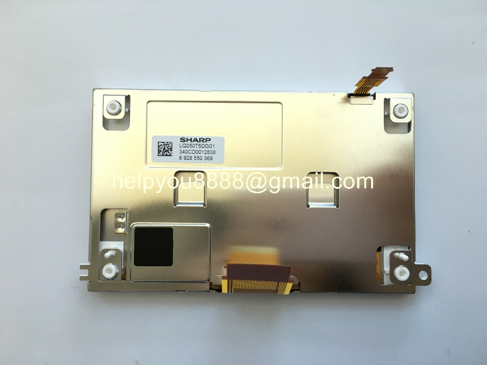 LQ050T5DG01 LQ050T5DG02 LCD Display without touch panel Original 5 inch for Car Navigation LCD Screen HB