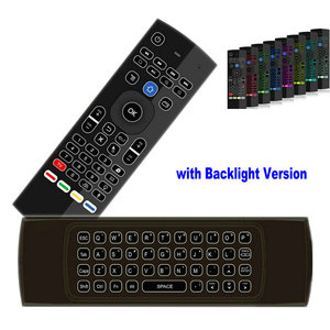 Image 3 - Tikigogo TK3 backlight Microphone 2.4G Air Mouse Mini Keyboard 44 IR Learning for Android Smart TV Box PK MX3 t3 Remote control
