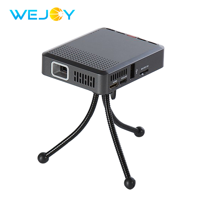 Cheap Wejoy Mini Projector Portable Multimdia HD 1080P Portatil Projetor Micro HDMI USB SD VGA AV Audio Function Led Projector Beamer
