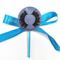 50 Pairs Lollipop Sticker Logo 3D Mink Lash Customized Logo Choose Styles Faux Mink Silk Strip Eyelash Extension Free Shipping