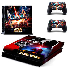 PS4 Star Wars The Force Awakens Sticker Decal For Sony PS4 PlayStation 4 Console and 2 controller skins