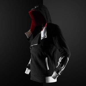 Image 3 - ZOGAA Gothic Hoodie streetwear 2019 ใหม่ hoodies ผู้ชาย Casual แฟชั่นสีดำ hoodie 5 สีพลัสขนาด S 4XL Assassin Men hoodies