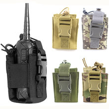 Sports Pendant Military Bag Package Pouch Walkie Talkie Holder Magazine Pocket