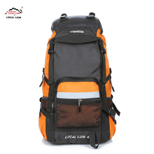 hiking backpack rucksack 45L Big Capacity Men Outdoor Light Travel Hike Packsack Climbing Bag Women Back