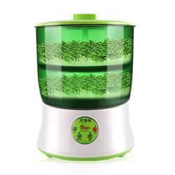 110/220 V inteligente brotes de soja de hogar Actualización de gran capacidad termostato verde semillas creciente de Sprout de la máquina