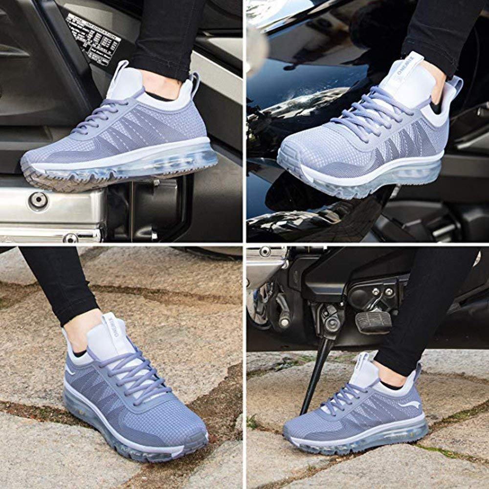 ONEMIX Men Running Shoes Fashion Casual Outdoor Jogging Air Cushioning Gym Fitness Sneakers Max 12 18