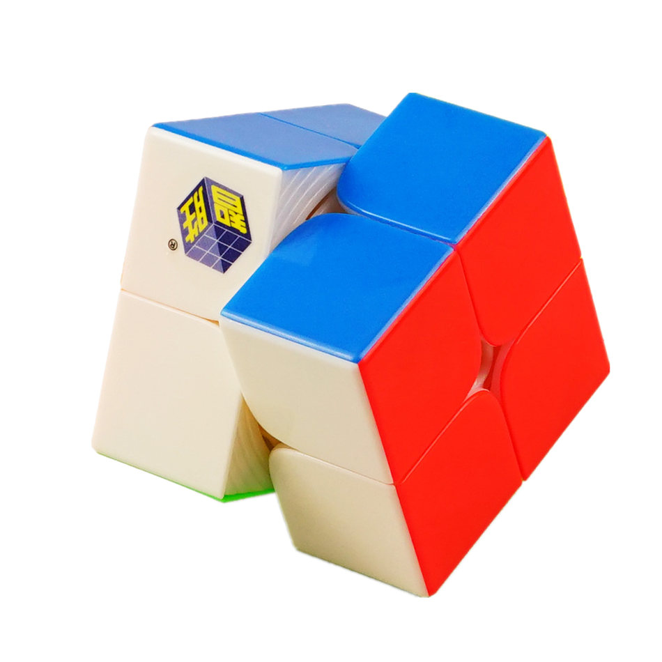 YuXin 2x2 Cube Speed Yuxin Little Magic 2x2x2 Magic Cube 2Layers  Speed Cube Professional Puzzle Toys For Children Kids Gift Toy