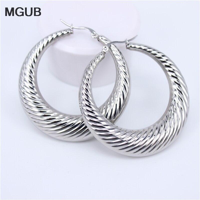 Circle Geometric Metal Earring Ear Hoop Earrings Jewelry Gift Large Ladies I0R7