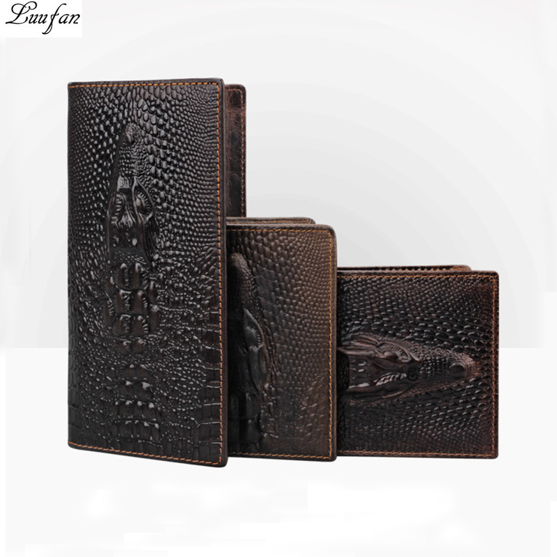 Tiger Wallet Dragon Cowhide Genuine-Leather Purse Clutch Coin-Pocket Phone Long-Bifold