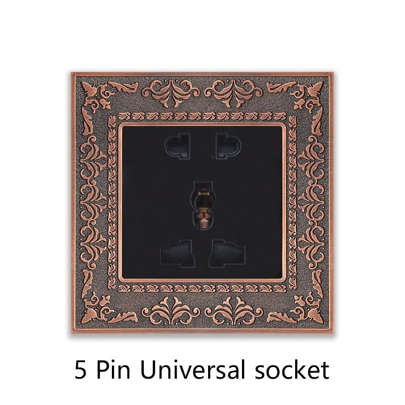 5 Pin Universal socket