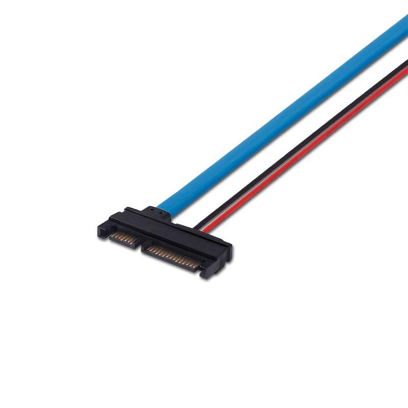 ULT-үздік SATA 5V кабелі Serial ATA 22Pin 7 + 15 Slimline - Компьютерлік кабельдер мен коннекторлар - фото 6