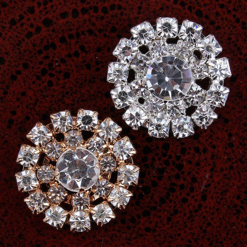 10PCS Handmade Vintage Metal Decorative Buttons Crystal Pearl Flower Center  Alloy Flatback Rhinestone Buttons Craft Supplies 3b9a223d7f9e