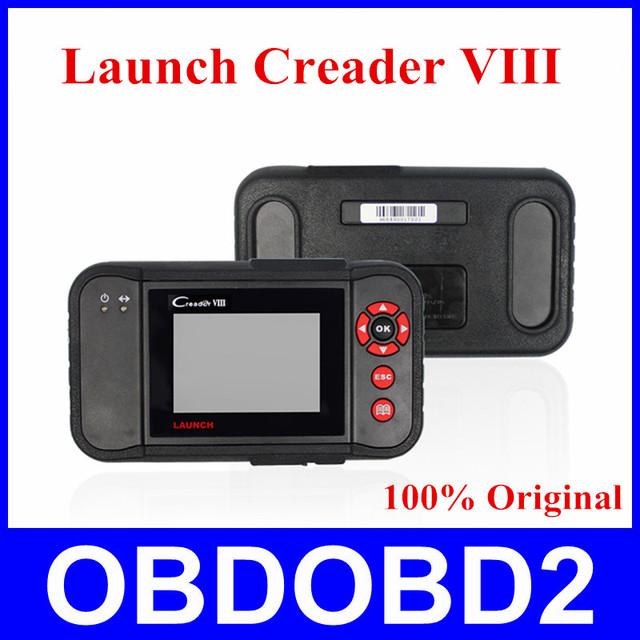 Lançamento Distribuidor 100% Original Lançamento X431 Creader VIII Code Reader 8 ENG/AT/ABS/SRS EPB SAS Redefine Luz de Serviço do óleo DHL Livre