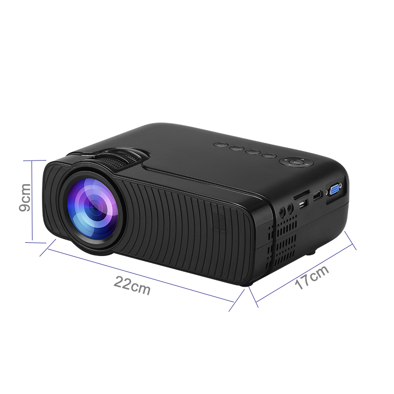 Image 5 - Smartldea AC3 HD 720P Mini Projector,Wired Sync display Optional,Support 1280x800 2400lumens Multimedia LED 3D Pocket Proyector-in LCD Projectors from Consumer Electronics