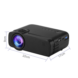 Image 5 - Smartldea AC3 HD 720P מיני מקרן, Wired תצוגת סנכרון אופציונלי, תמיכת 1280x800 2400lumens מולטימדיה LED 3D כיס Proyector