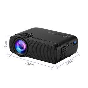 Image 5 - Smartldea AC3 hd 720 1080pミニプロジェクター、有線同期表示オプション、サポート 1280 × 800 2400 ルーメンマルチメディアled 3Dポケットproyector