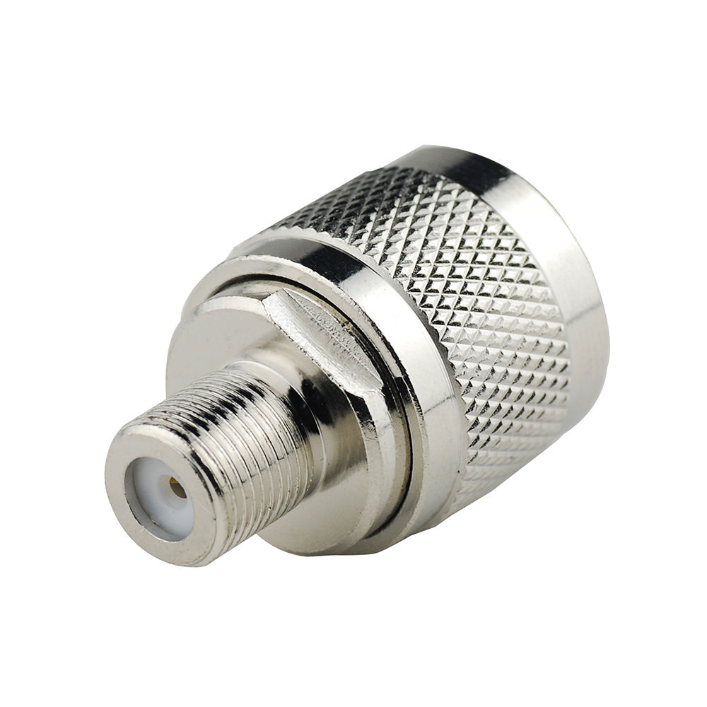 F Type Female Jack to N TYPE Female Plug Straight Adapter RF Connector Converter