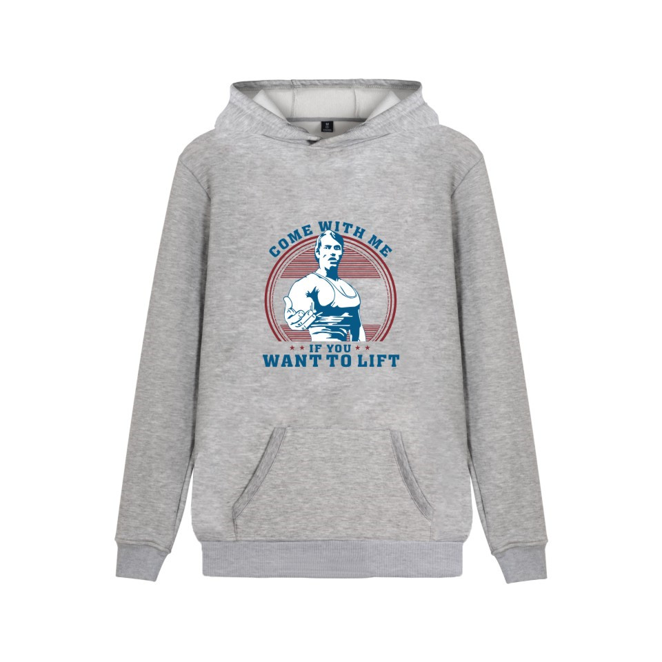 Come With Me IF YOU WANT TO LIFT Hoodies Fashion Men Women Casual body building Clothing Hooded Sweatshirts