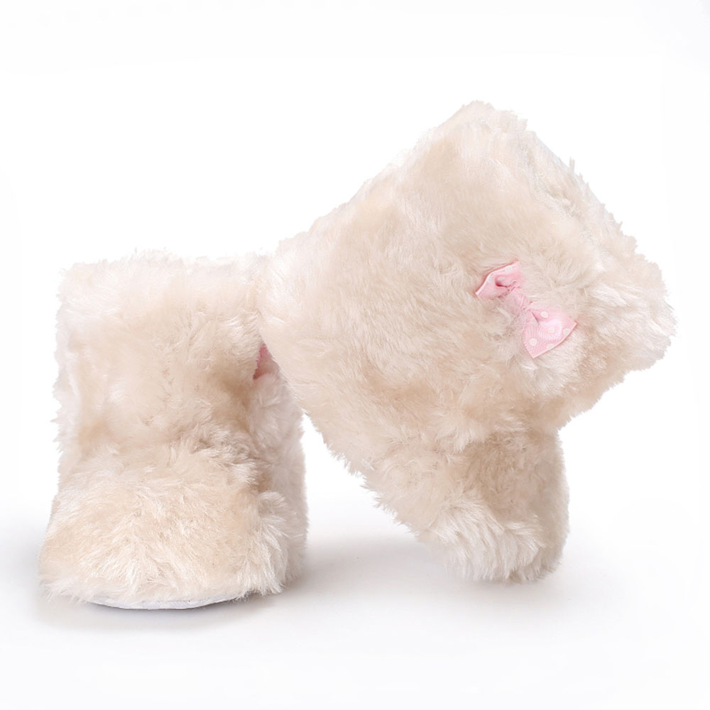 1pair Baby Girls Snow Boots Soft bottom toddler shoes Baby Snow Boots Girl Bowknot Fluffy Plush Shoes Cute Anti-Slip New1pair Baby Girls Snow Boots Soft bottom toddler shoes Baby Snow Boots Girl Bowknot Fluffy Plush Shoes Cute Anti-Slip New