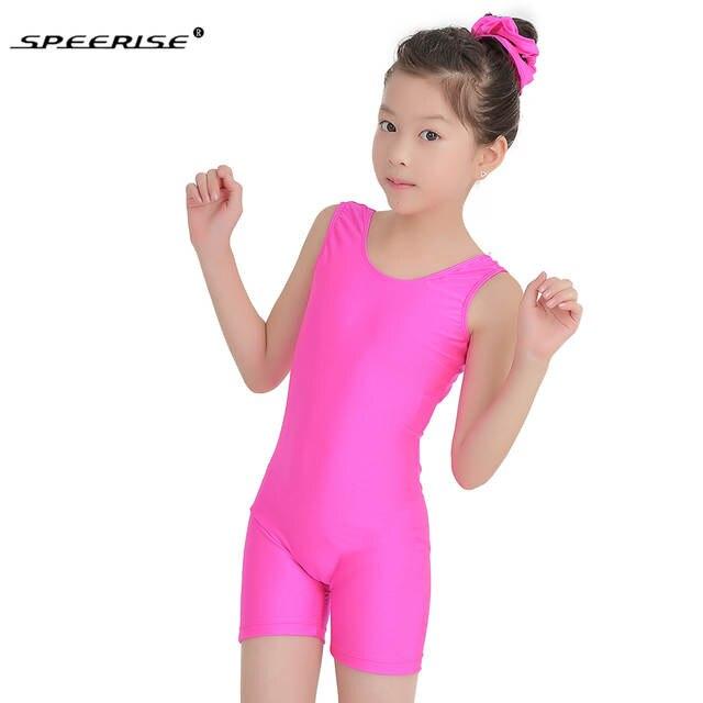 ef7783b3c Online Shop SPEERISE Child Tank Biketard Kids Unitards Costume for ...