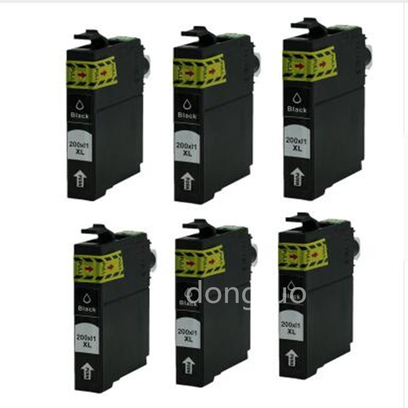 T200XL Ink Cartridge for Epson T2001 XL T2002 T2003 T2004 Workforce WF 2540 Expression XP 100 200 300 310 400