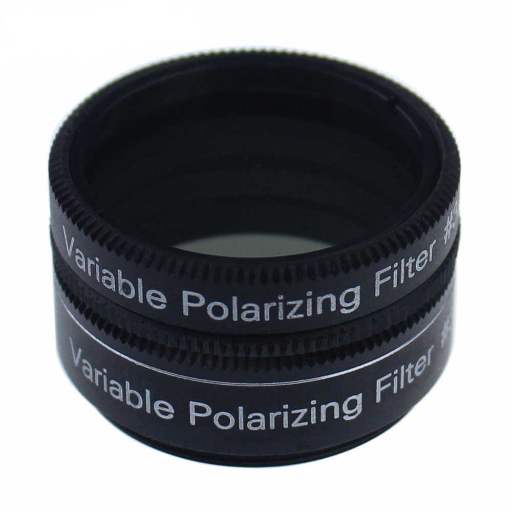 1.25 Inch Variable Polarizing  Filter No3 - Progressively Dim the View - Increasing Contrast for telescope Eyepiece1.25 Inch Variable Polarizing  Filter No3 - Progressively Dim the View - Increasing Contrast for telescope Eyepiece