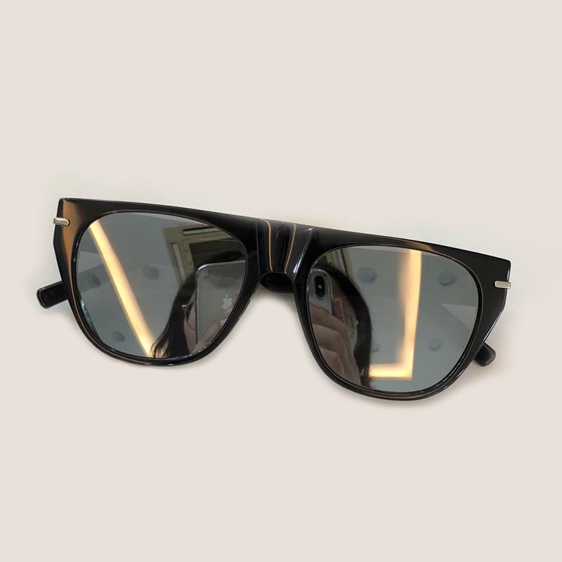 Shades Objektiv Sonnenbrille Weibliche no Hohe Sunglasses Marke no Verpackung No Sunglasses Designer Qualität 1 Box 3 2 Mit Uv400 Frauen Acetat 4 Sunglasses no 5 Sunglasses Retro Mode no Sunglasses Rahmen Zd6q0Z