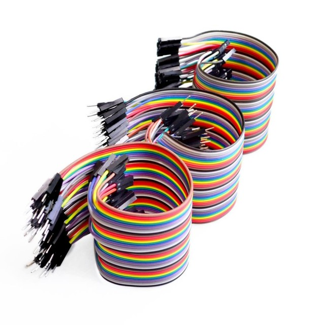 Free shipping Dupont line 120pcs 10CM male to male + male to female and female to female jumper wire Dupont cable for Arduino