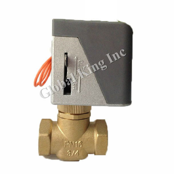 G 3/4'' DN20 220V Gray Electric Ball Valve, Brass 2 Way Motorized Ball Valve картридж brother tn 321m для hl l8250cdn mfc l8650cdw пурпурный 1500стр