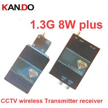 8W made in taiwan 1 3G transceiver 1300mhz CCTV transmitter 1 3G Transmitter ReceivernFPV image transmission