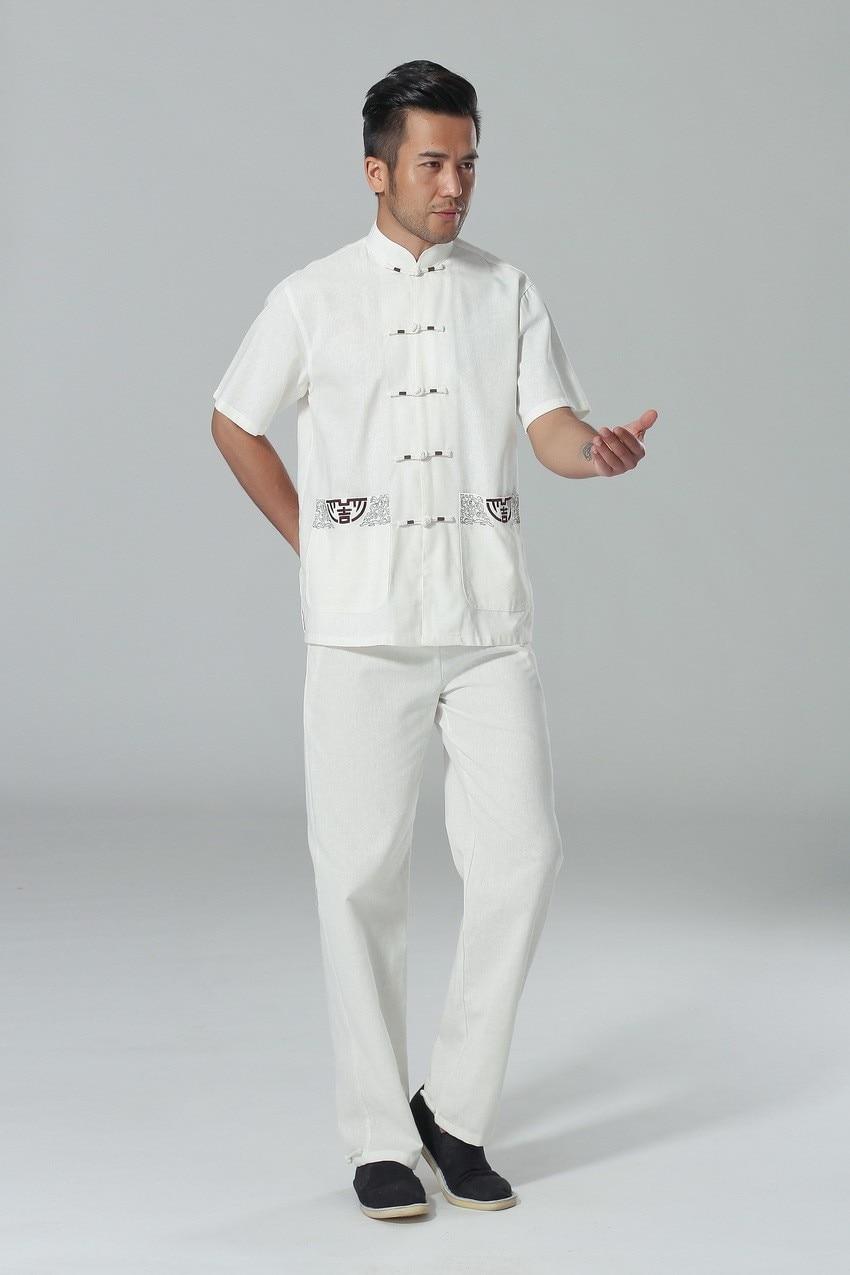 Online Get Cheap Mens White Linen Pants and Shirt -Aliexpress.com ...