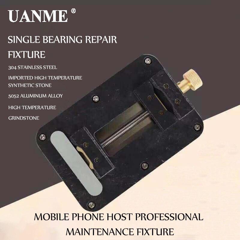 UANME Single Bearing Repair Fixture Motherboard Clamps Main Logic Board PCB BGA Fixture Holder Fix Repair Mold ToolUANME Single Bearing Repair Fixture Motherboard Clamps Main Logic Board PCB BGA Fixture Holder Fix Repair Mold Tool