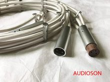 AUDIOSON-Hi-End Demark Argento Flusso Audio XLR Cavo di Interconnessione Balance