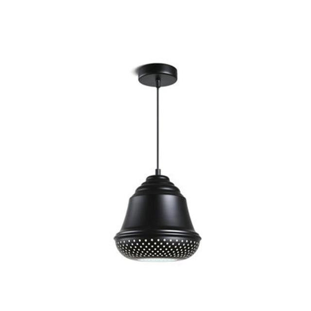 Loft Style Industrial Vintage Droplight Black Iron Honeycomb LED ...