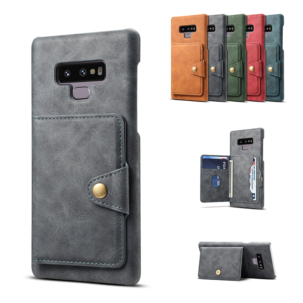 S9 Plus Case For Samsung Galaxy Note 9 Leather Skin Cover For Samsung S9 Galaxy S9 Plus Luxury